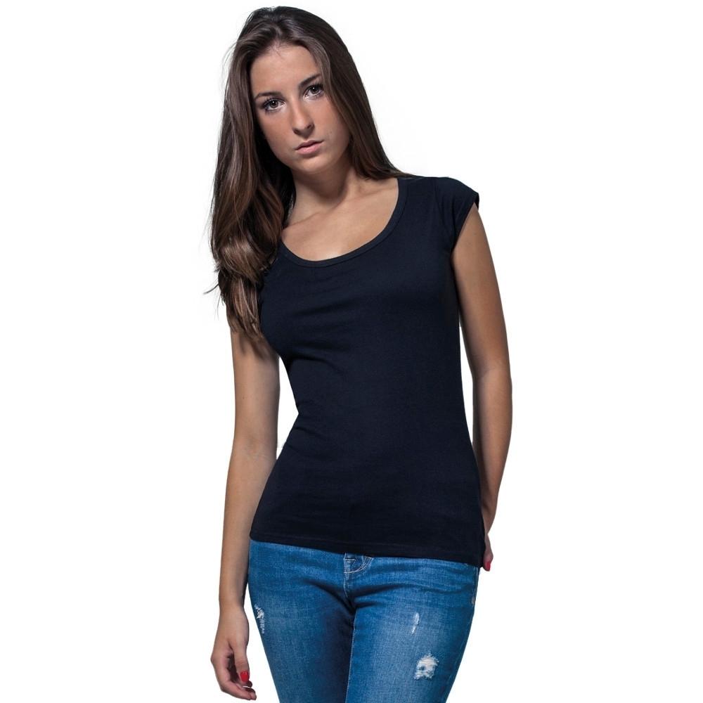 Cotton Addict Womens Back Cut Out Lightweight T Shirt L - Uk Size 14