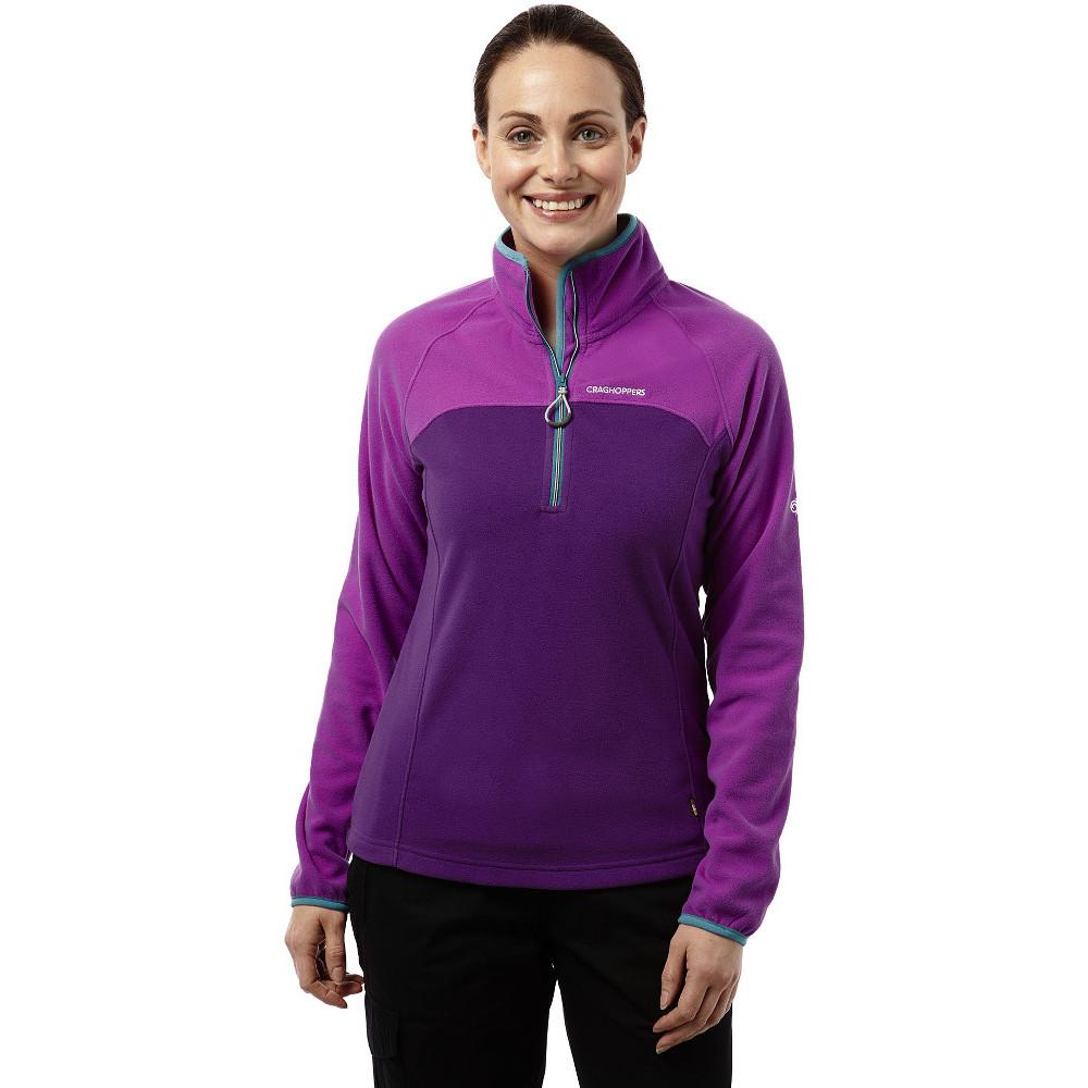Product image of Craghoppers Womens/Ladies Ionic II Lightweight Half Zip Fleece Top 18 - Bust 42' (107cm)
