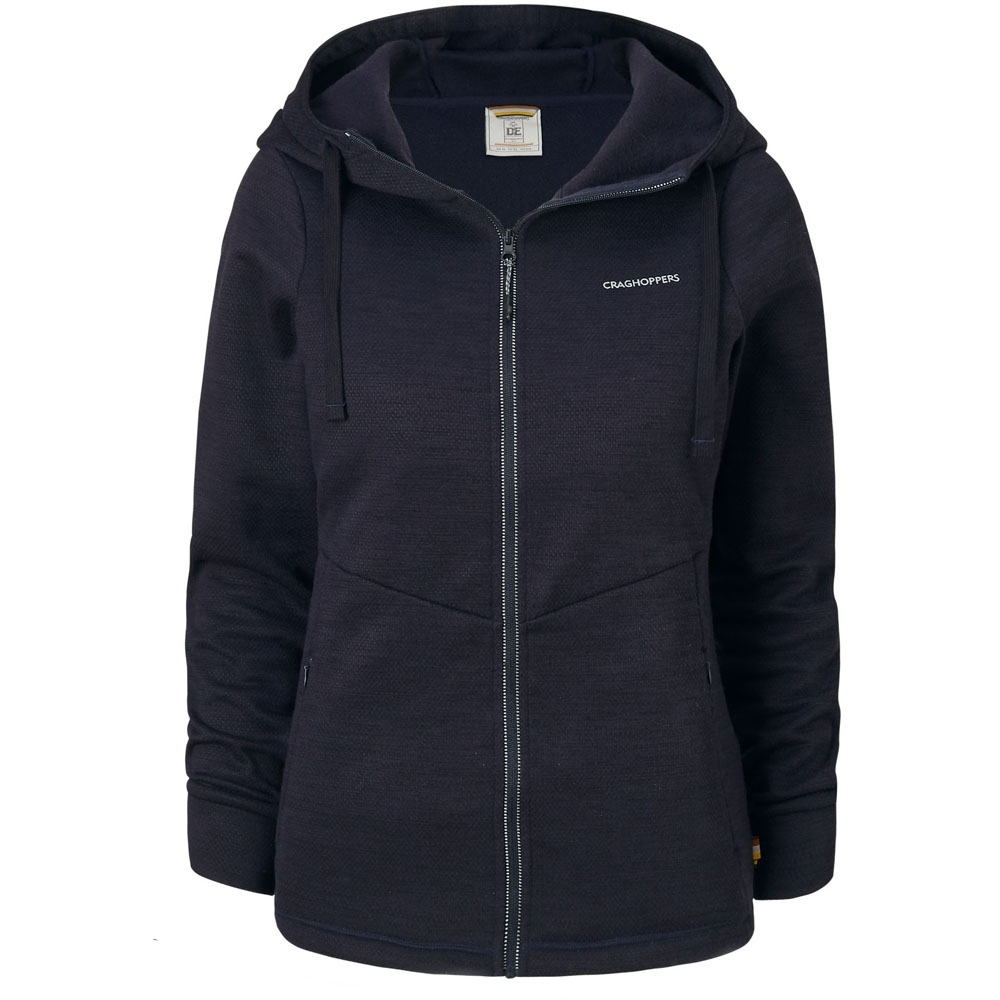 Craghoppers Womens/Ladies Vector Full Zip Hooded Fleece Jacket 16 - Bust 40 (102cm)