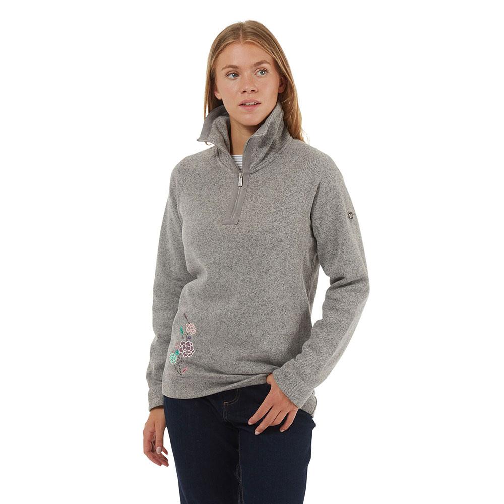 Craghoppers Womens Nina Half Zip Fleece Jacket 10 - Bust 34 (86cm)