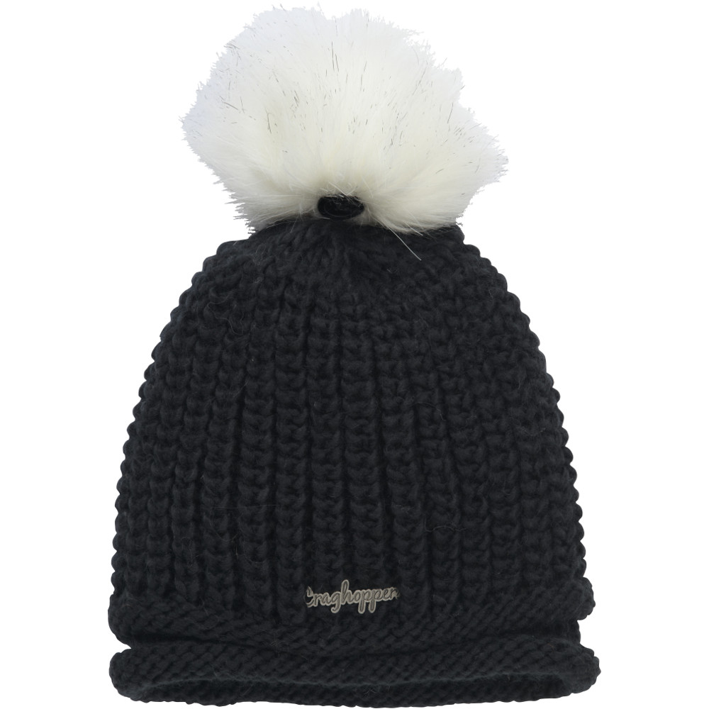 Product image of Craghoppers Womens/Ladies Langley Knit Acrylic Bobble Beanie Hat Small / Medium