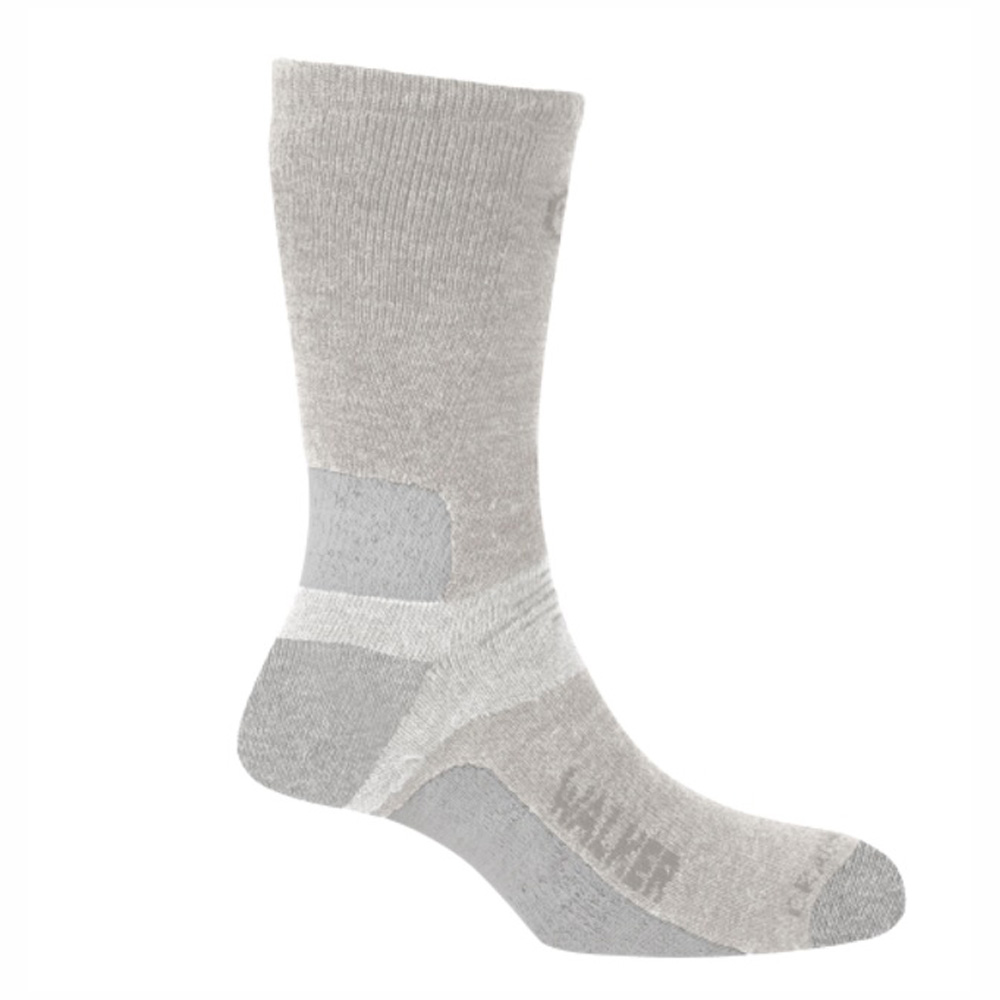 Product image of Craghoppers Ladies Rich Wool Cushioned Walking Socks White
