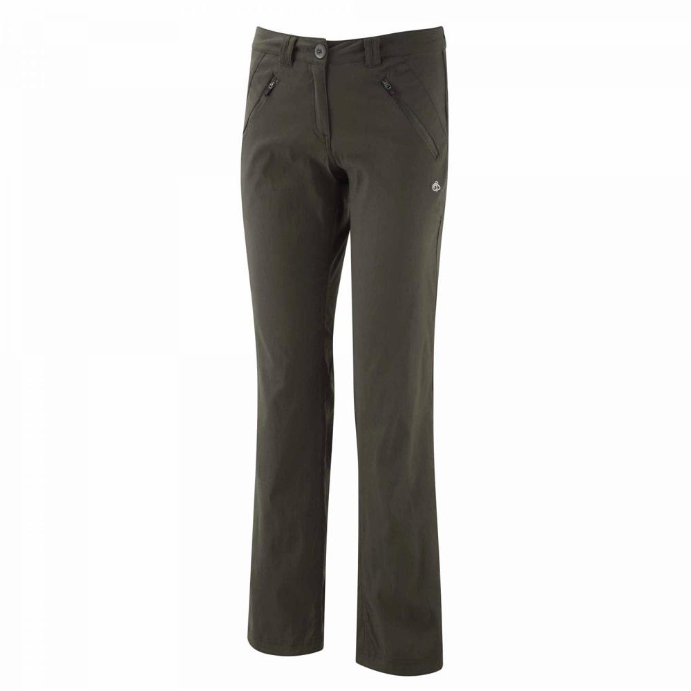 Craghoppers Ladies Kiwi Pro Stretch Walking Trousers Black