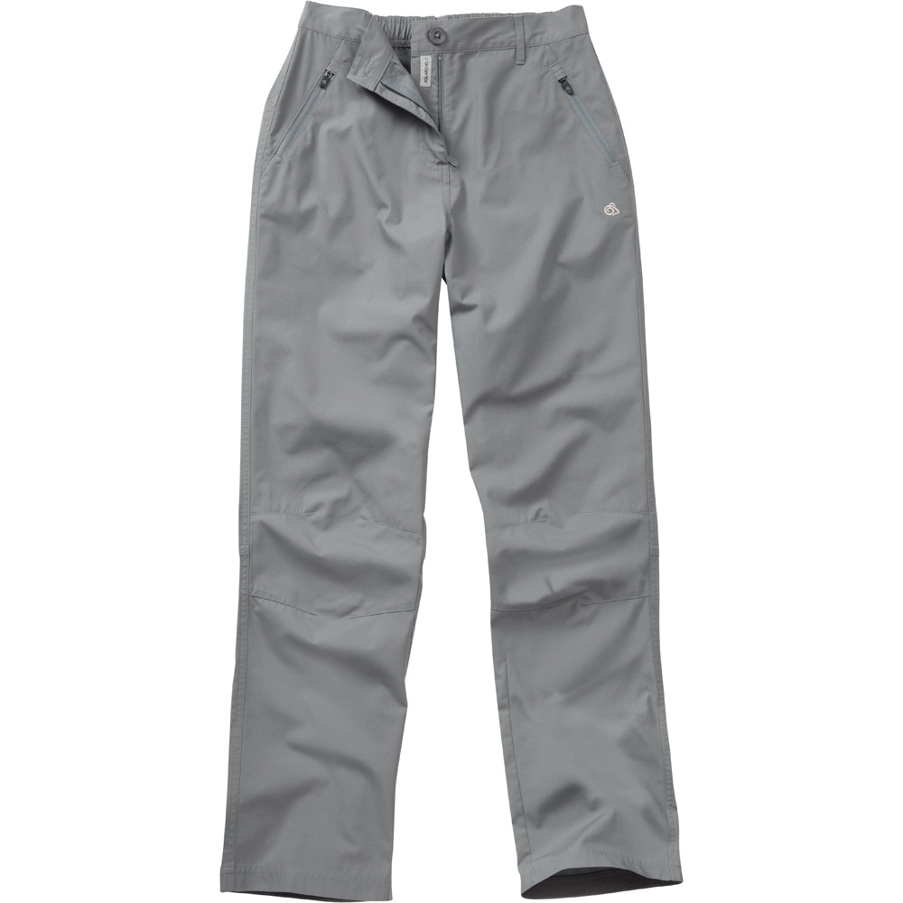 Craghoppers Ladies Basecamp Casual Walking Trousers Grey