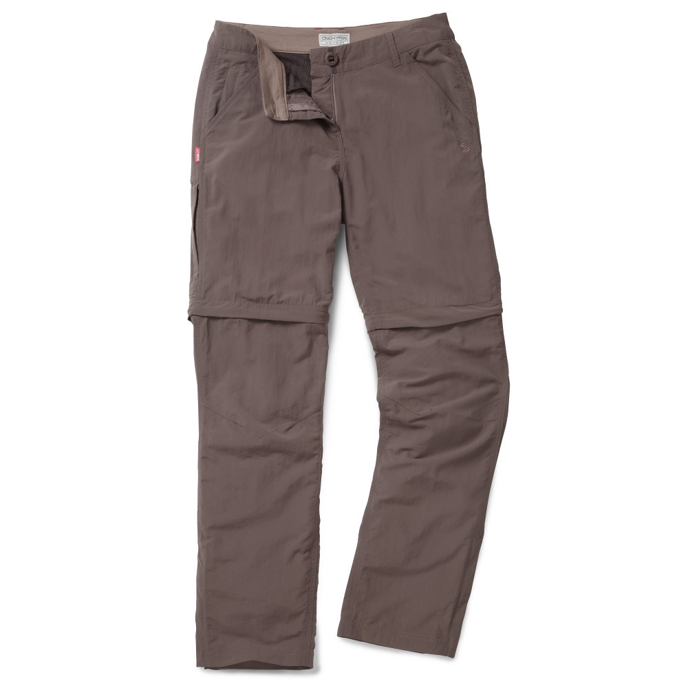 Craghoppers Womens/Ladies NosiLife Zip-Off Walking Trousers