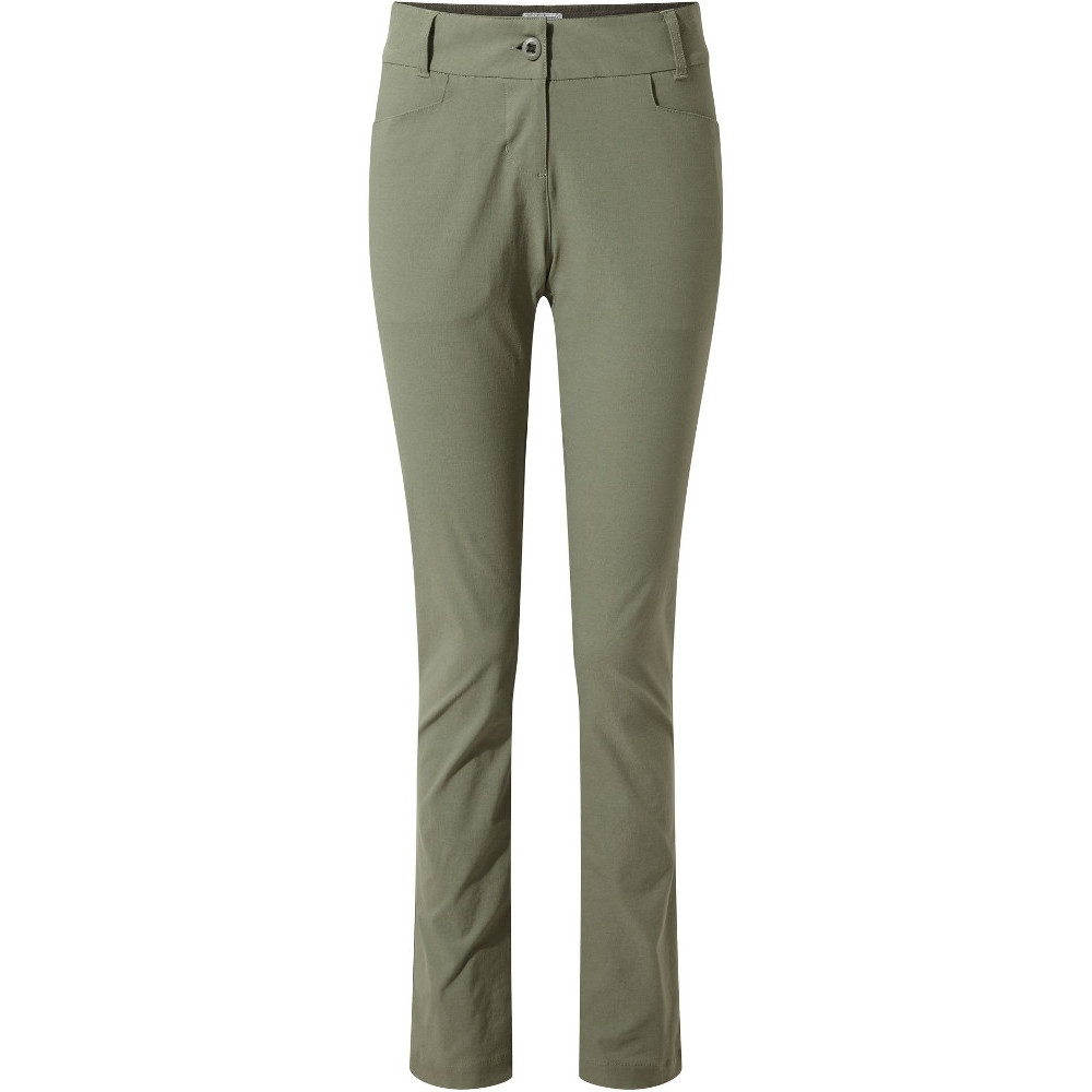 Image of Craghoppers Womens Nosi Life Clara Summer Walking Trousers 12S - Waist 28' (71cm), Inside Leg 28'