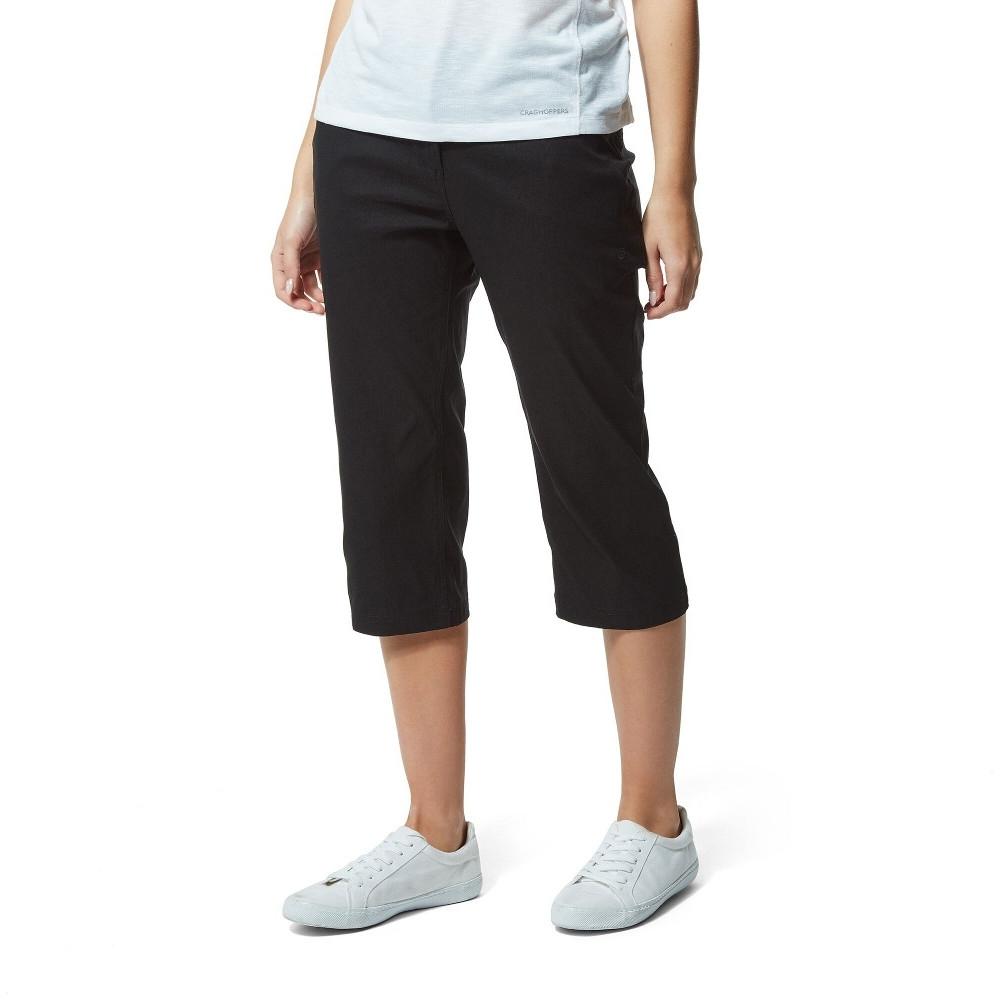 Craghoppers Womens Kiwi Pro Cropped Walking Capri Pants 8 - Waist 26 (66cm)