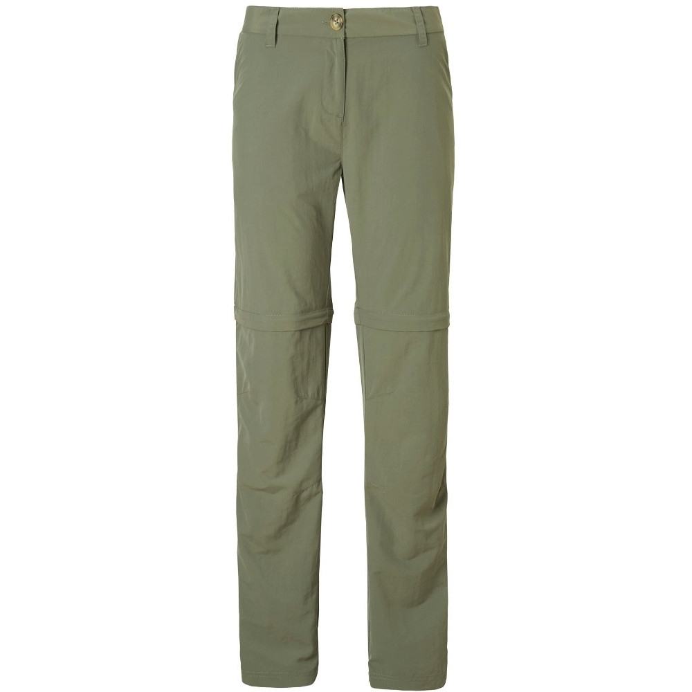 Image of Craghoppers Womens Nosi Life Convertible Zip Off Trousers 20L - Waist 36' (91cm), Inside Leg 33'