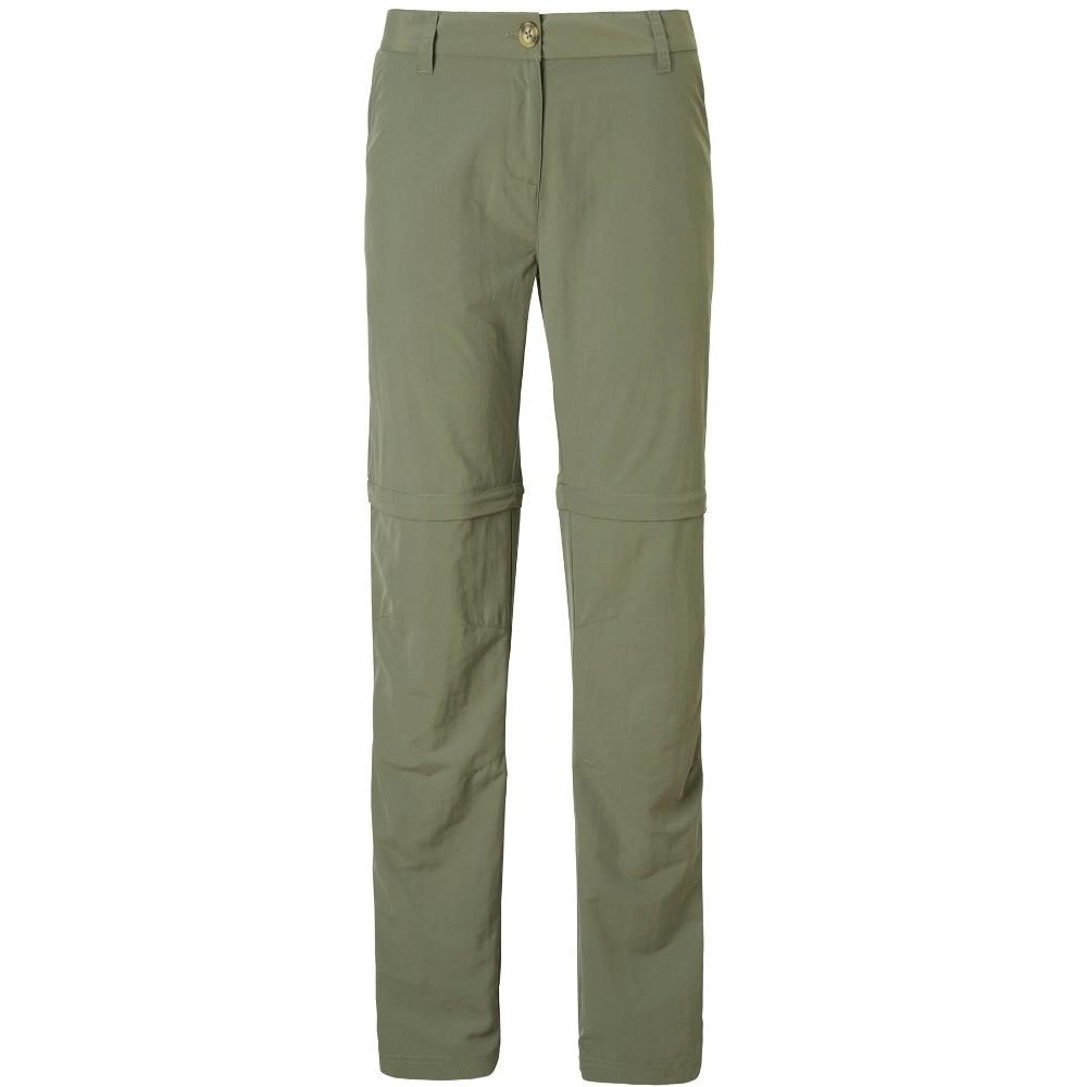 Craghoppers Womens Nosi Life Convertible Zip Off Trousers 8r - Waist 26 (66cm)  Inside Leg 31