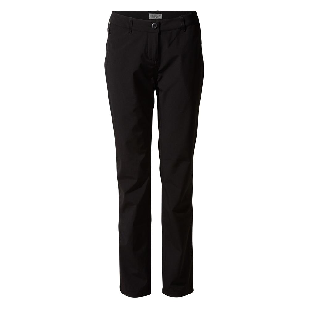 Craghoppers Womens Kiw Pro Softshell Smartdry Trousers 18 - Waist 34 (86cm)