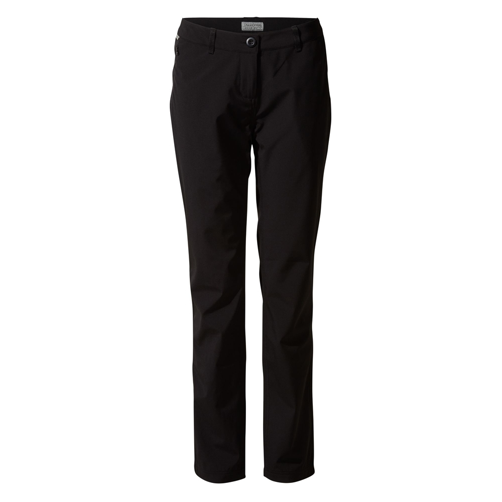 Craghoppers Womens Kiw Pro Softshell Smartdry Trousers 8 - Waist 26 (66cm)