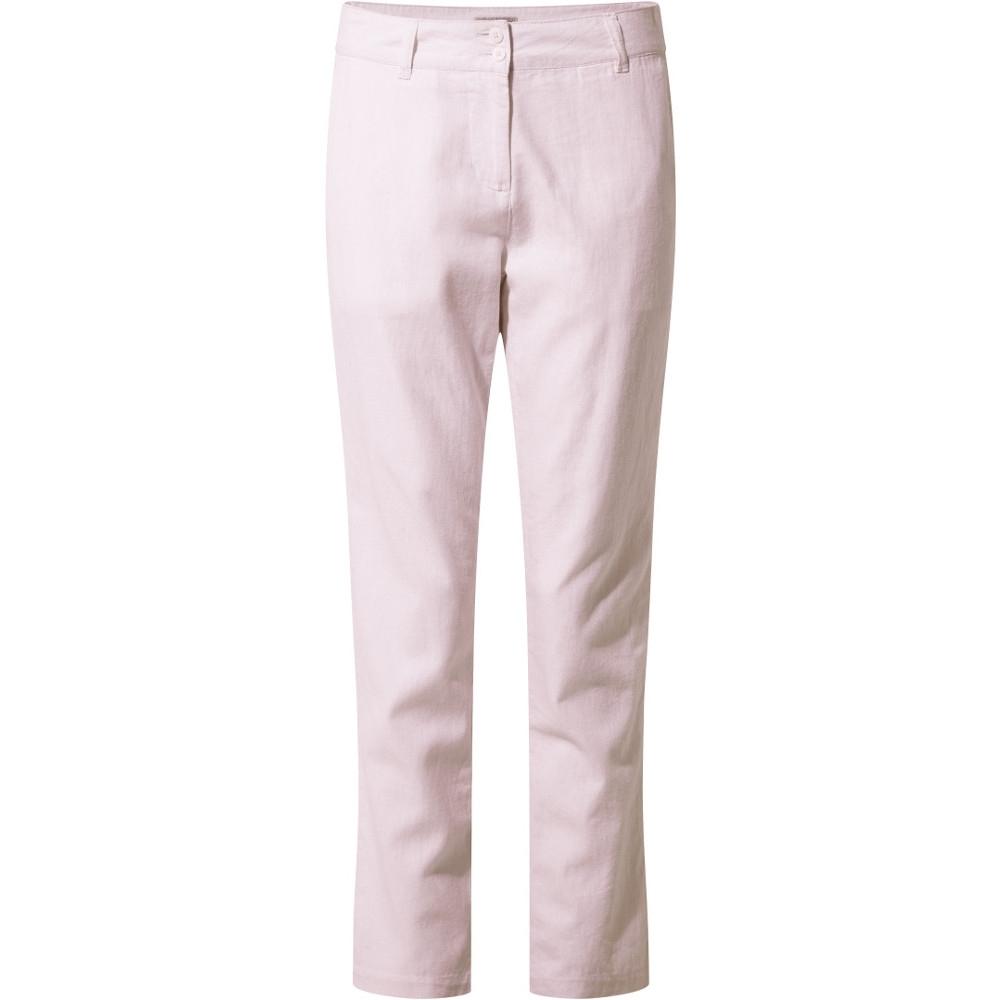 Craghoppers Womens Rosa Summer Casual Walking Trousers 16r - Waist 32 (81cm)  Inside Leg 31