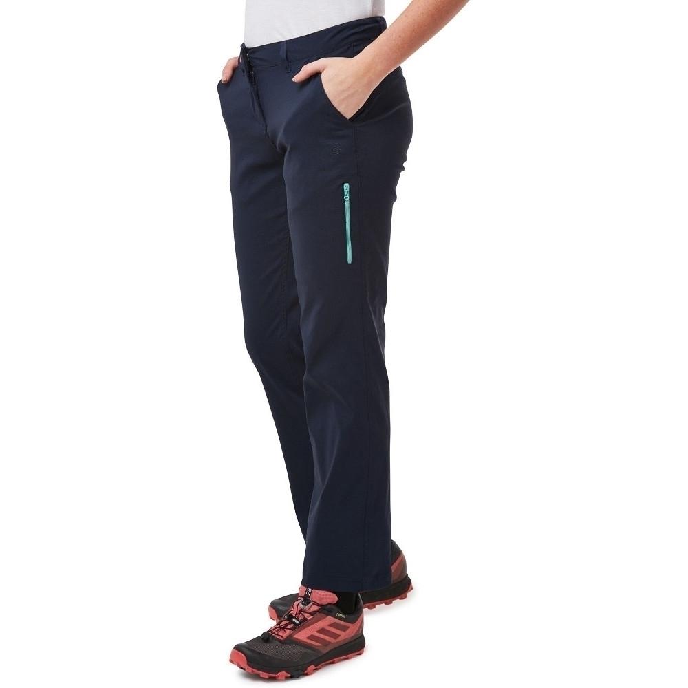 Craghoppers Womens Verve Adventure Fit Walking Trousers 8s - Waist 26 (66cm)  Inside Leg 28