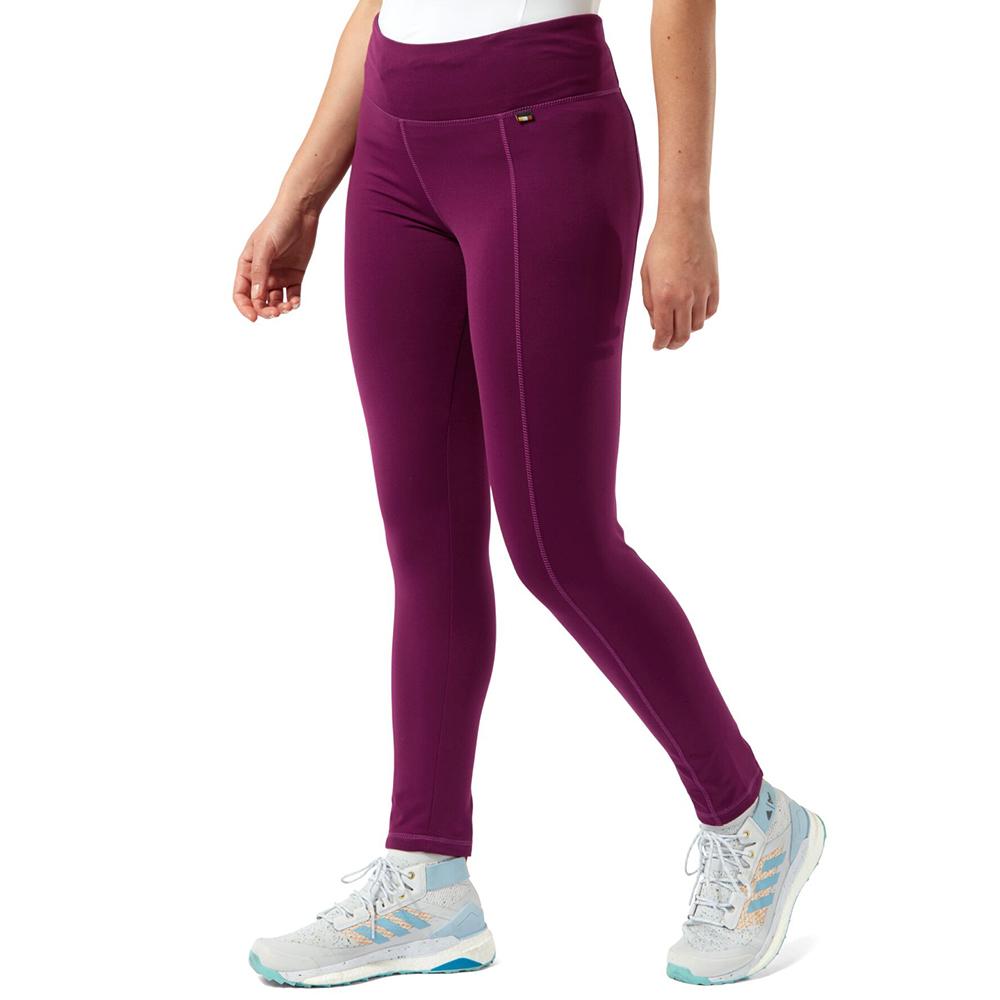 Craghoppers Womens Velocity Lightweight Baselayer Trousers 16 - Waist 32 (81cm)