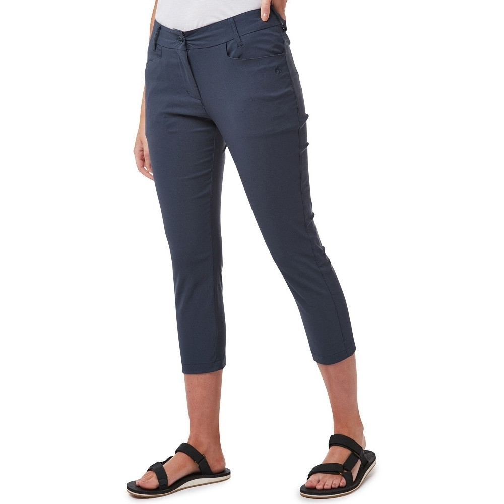 Craghoppers Womens Kiwi Pro Easy Care Summer Walking Shorts 14 - Waist 30 (76cm)