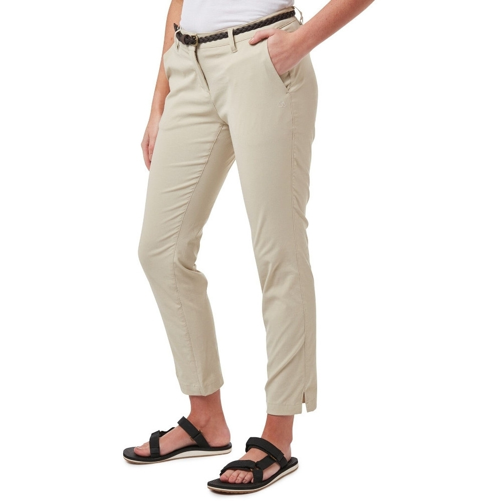 Craghoppers Womens Kiwi Pro Convertible Zip Off Trousers 18r - Waist 34 (86cm)  Inside Leg 31