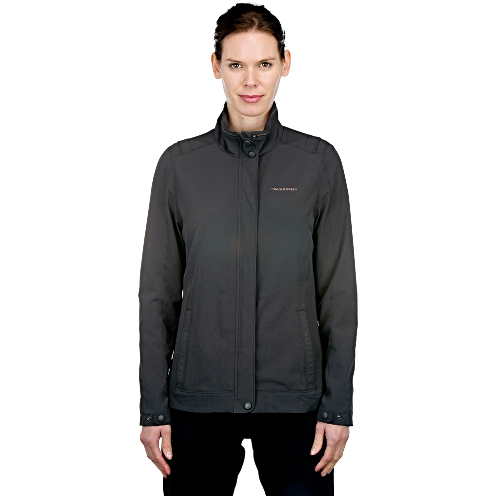 Craghoppers Ladies NosiLife Akello Light Stretch Travel Jacket Black