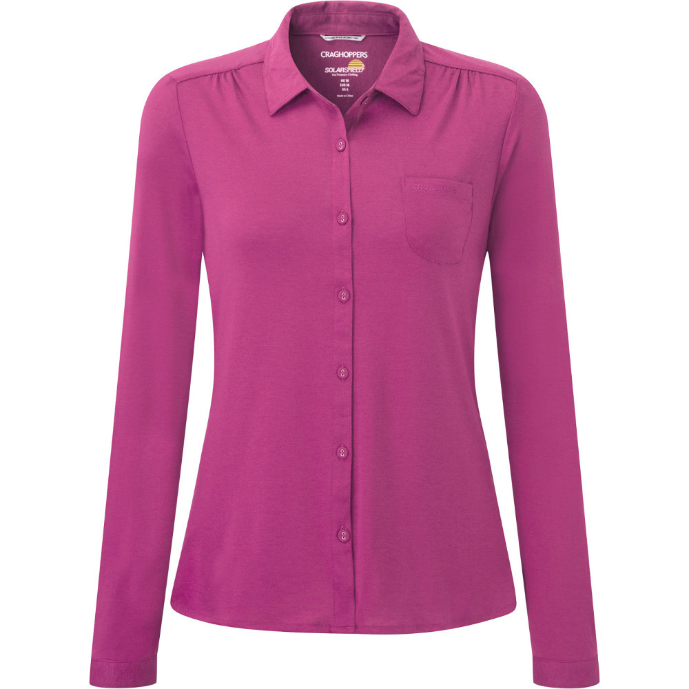 Craghoppers Womens/Ladies Kaile Long Sleeve Travel Shirt 14