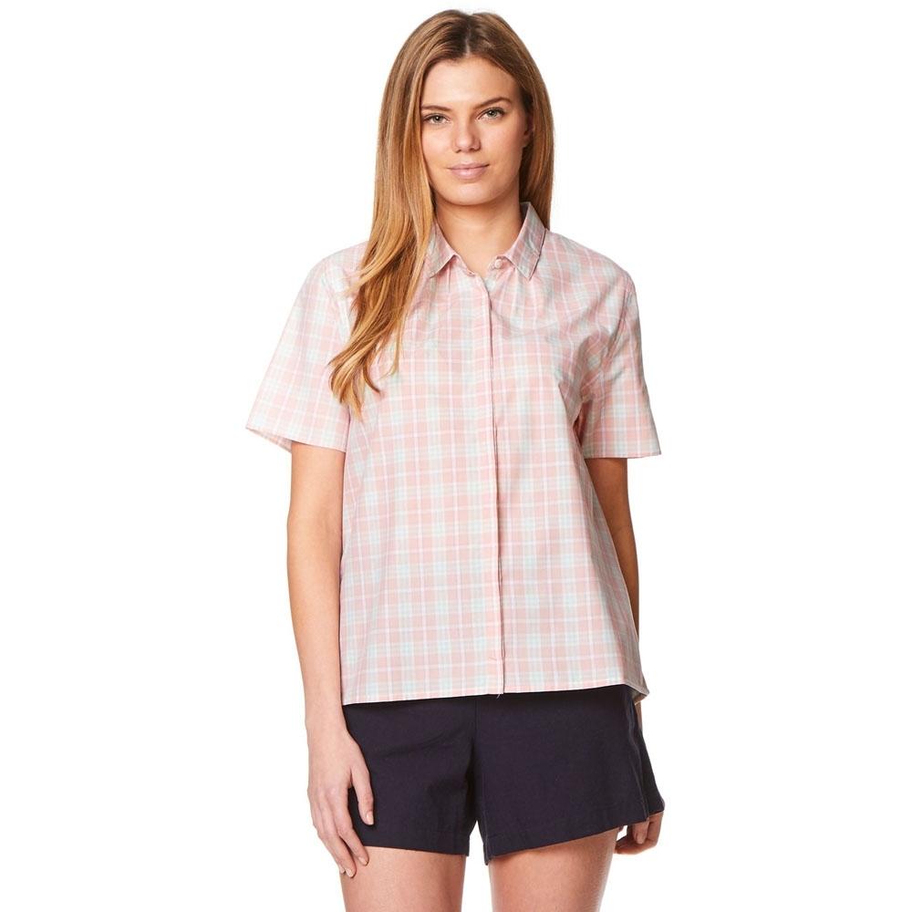 Craghoppers Womens/ladies Natalie Short Sleeve Summer Button Shirt 8 - Bust 32 (81cm)