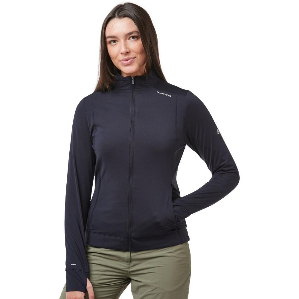 Craghoppers Womens Nosilife Florian Full Zip Fleece Jacket 10 - Bust 34 (86cm)