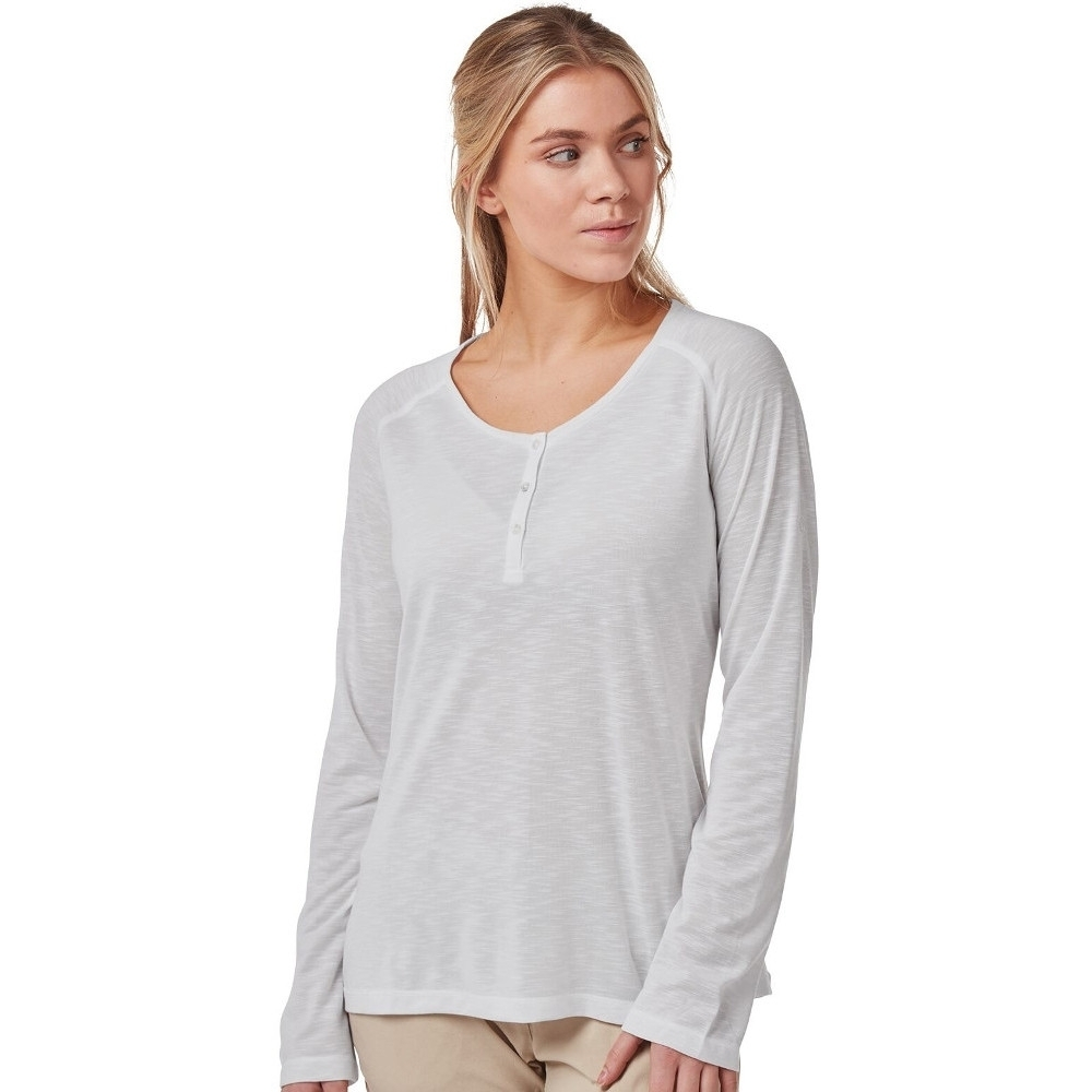 Craghoppers Womens Nosilife Kayla Wicking Long Sleeve Top 8 - Bust 32 (81cm)