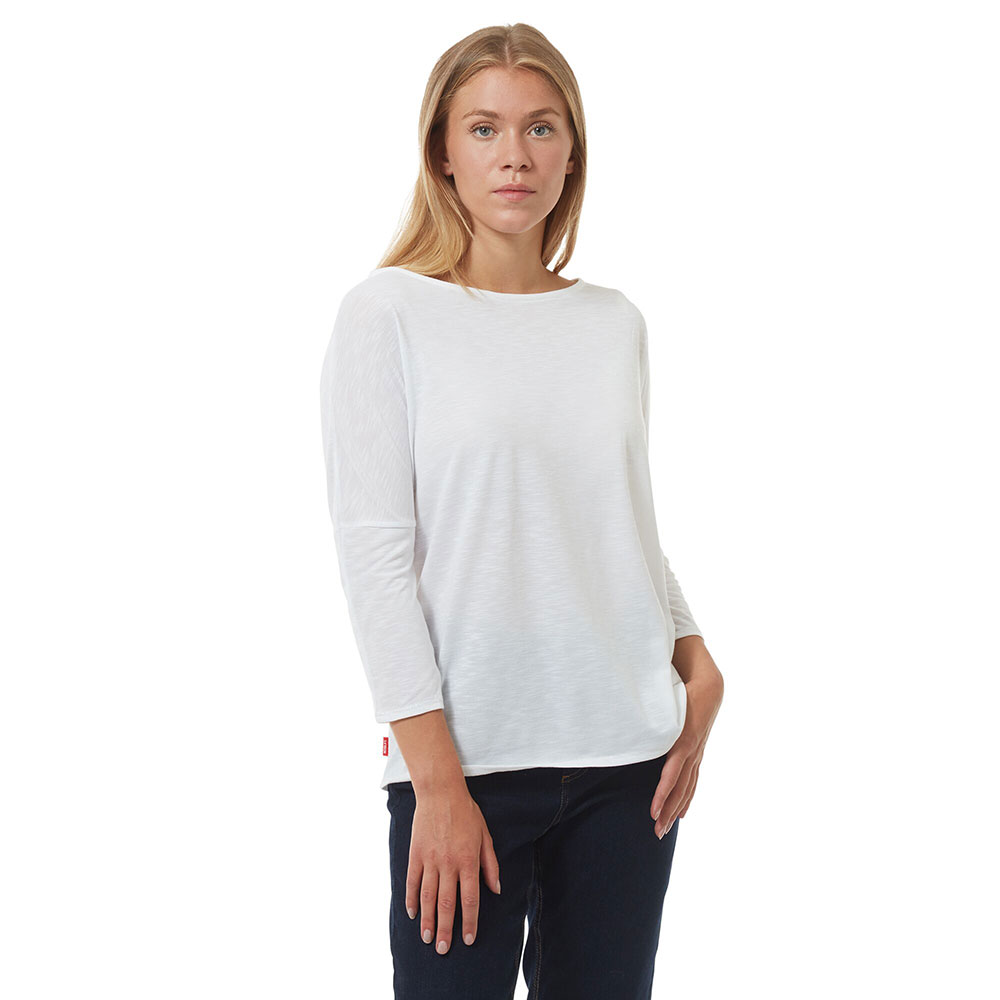 Craghoppers Womens Islay Soft Brushed Long Sleeve Shirt 8 - Bust 32 (81cm)