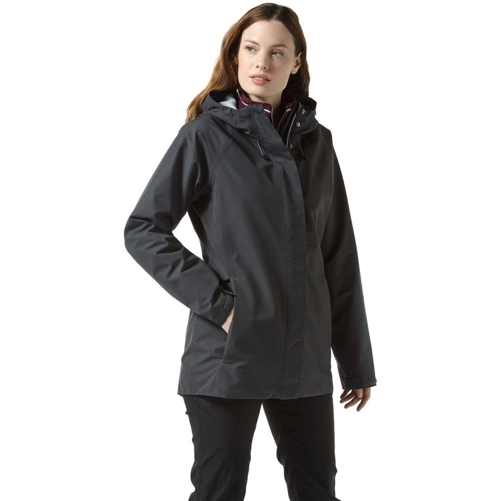 Craghoppers Womens Isobel Gore Tex Waterproof Shell Jacket 18 - Bust 42 (107cm)