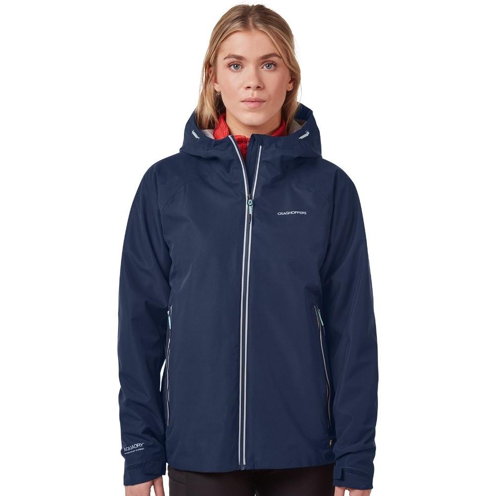 Craghoppers Womens Atlas Waterproof Breathable Hooded Coat 10 - Bust 34 (86cm)