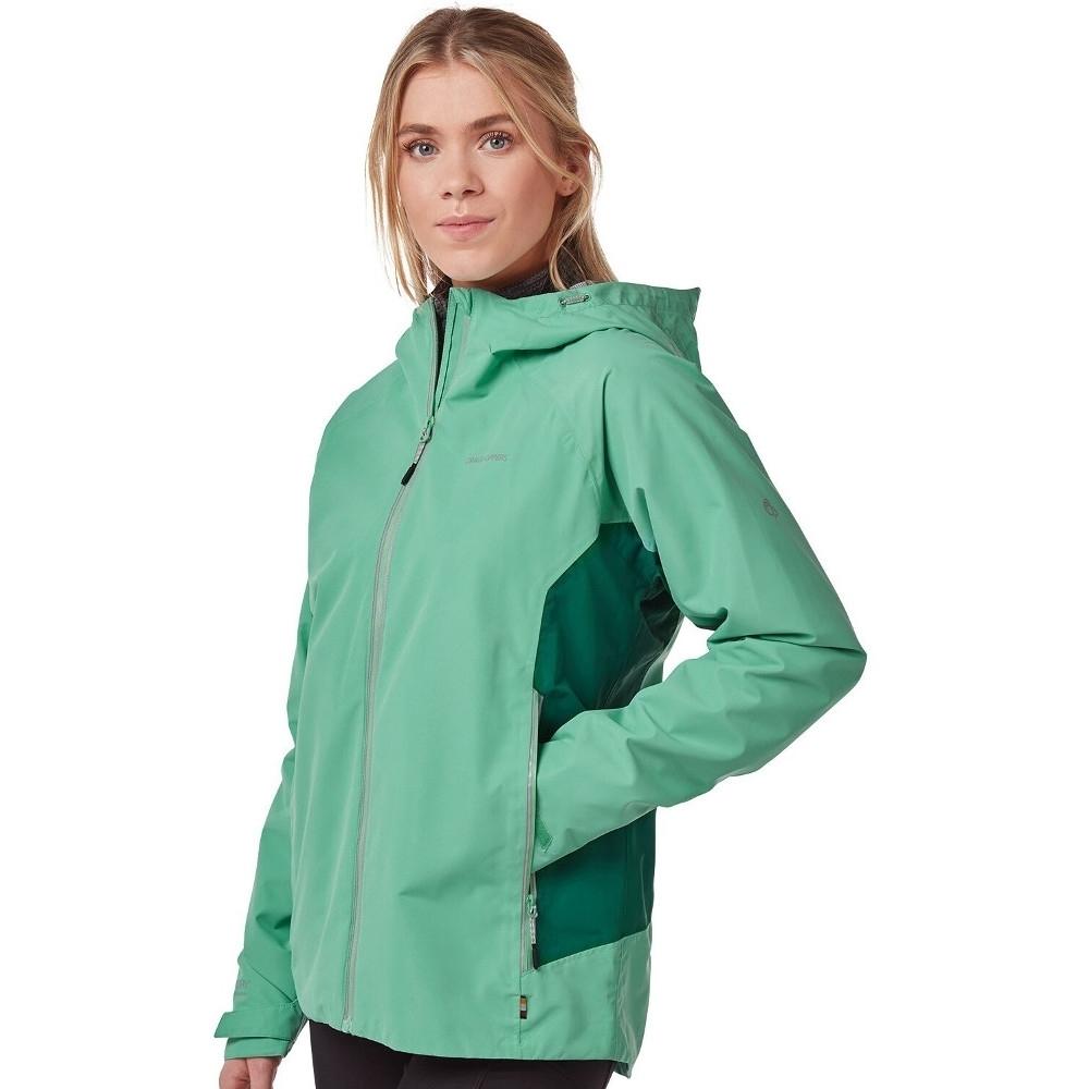 Craghoppers Womens Atlas Waterproof Breathable Hooded Coat 8 - Bust 32 (81cm)