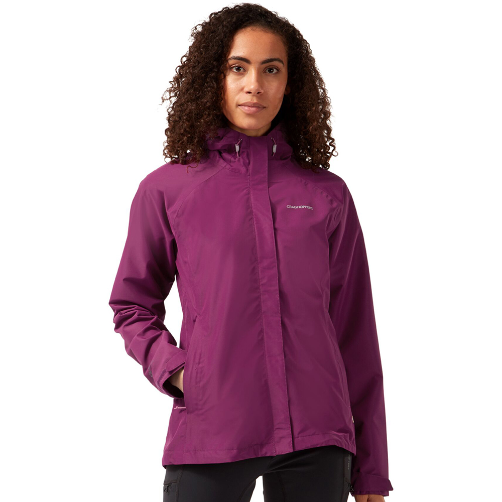 Craghoppers Womens Orion Waterproof Breathable Hooded Coat 6 - Bust 30 (76cm)
