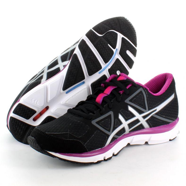 para agregar internacional lluvia  Asics Womens Gel-Attract 3 Running Training Shoes Black T4D7N | Outdoor Look