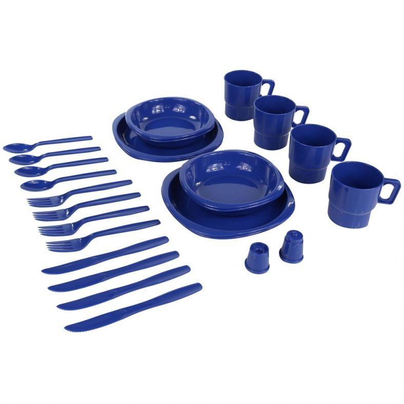 Regatta Mens /& Womens 4-Person Plastic Picnic Table Cutlery Set
