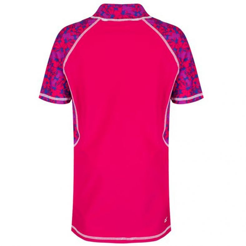 Regatta Boys /& Girls Hover Stretch Fabric Rash Vest Shirt