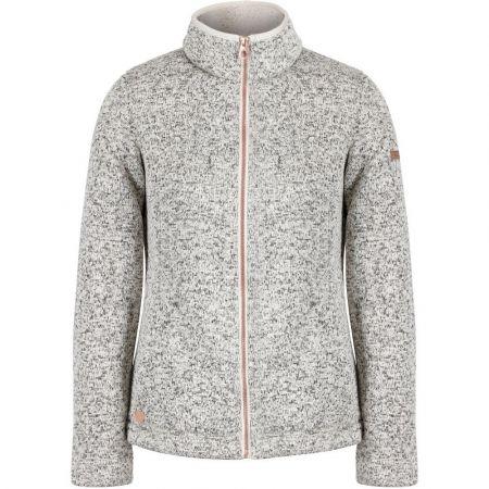 Regatta Womens//Ladies Lowes Full Zip Two Tone Hooded Fleece Jacket