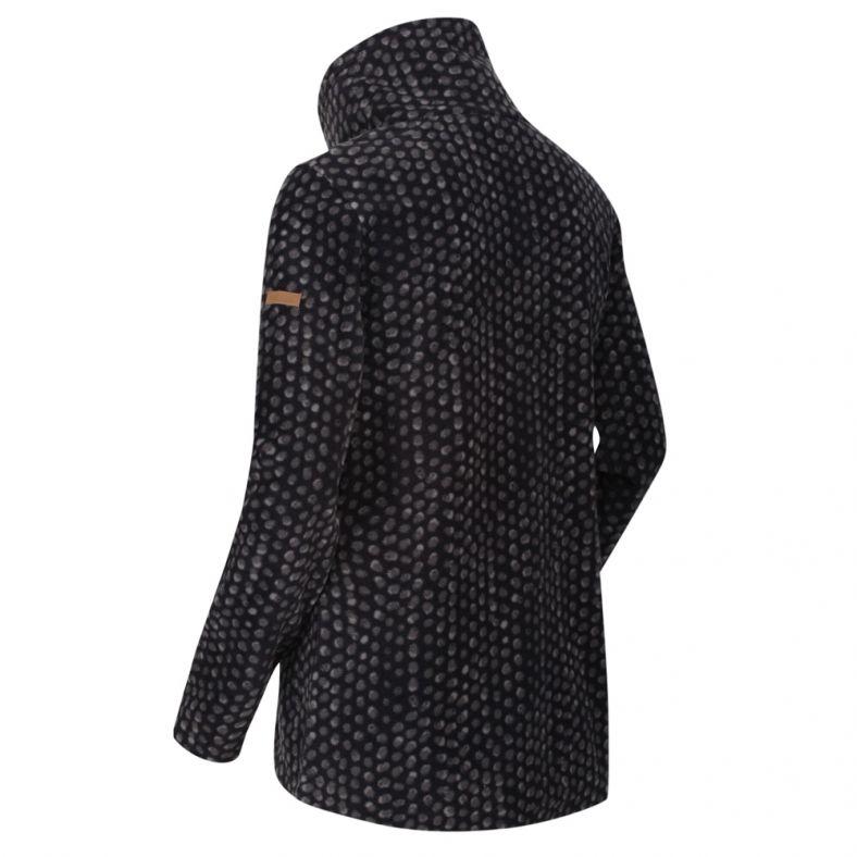 Regatta Womens Leela High Neck Half Zip Casual Fleece Jacket Chaqueta Polar Mujer