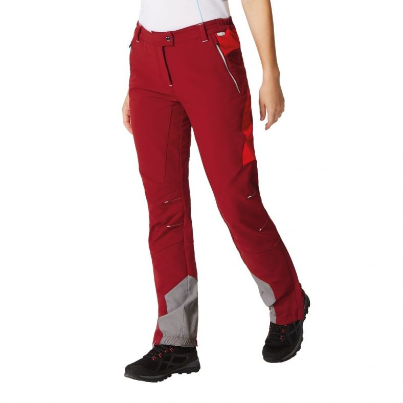 Regatta Womens Womens Mountain Water Repellent Stretch Hiking Trousers Trousers