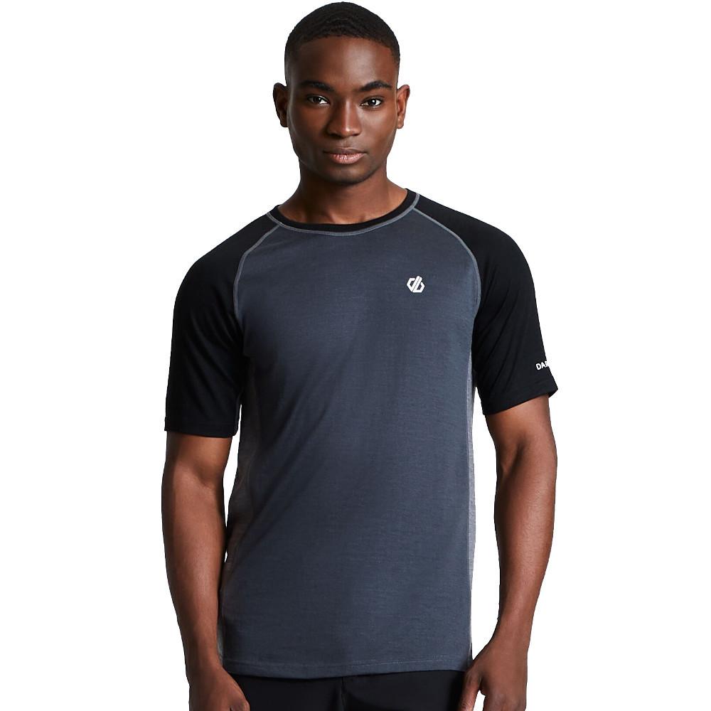 Dare 2b Mens Conflux Wicking Running Crew Neck T Shirt 3xl - Chest 49-51 (124.5-129.5cm)