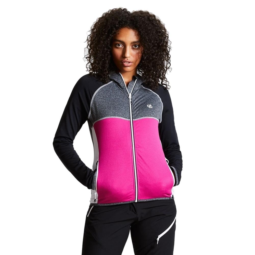 Dare 2b Womens Courteous Ii Stretch Full Zip Softshell Coat 10 - Bust 34 (86cm)