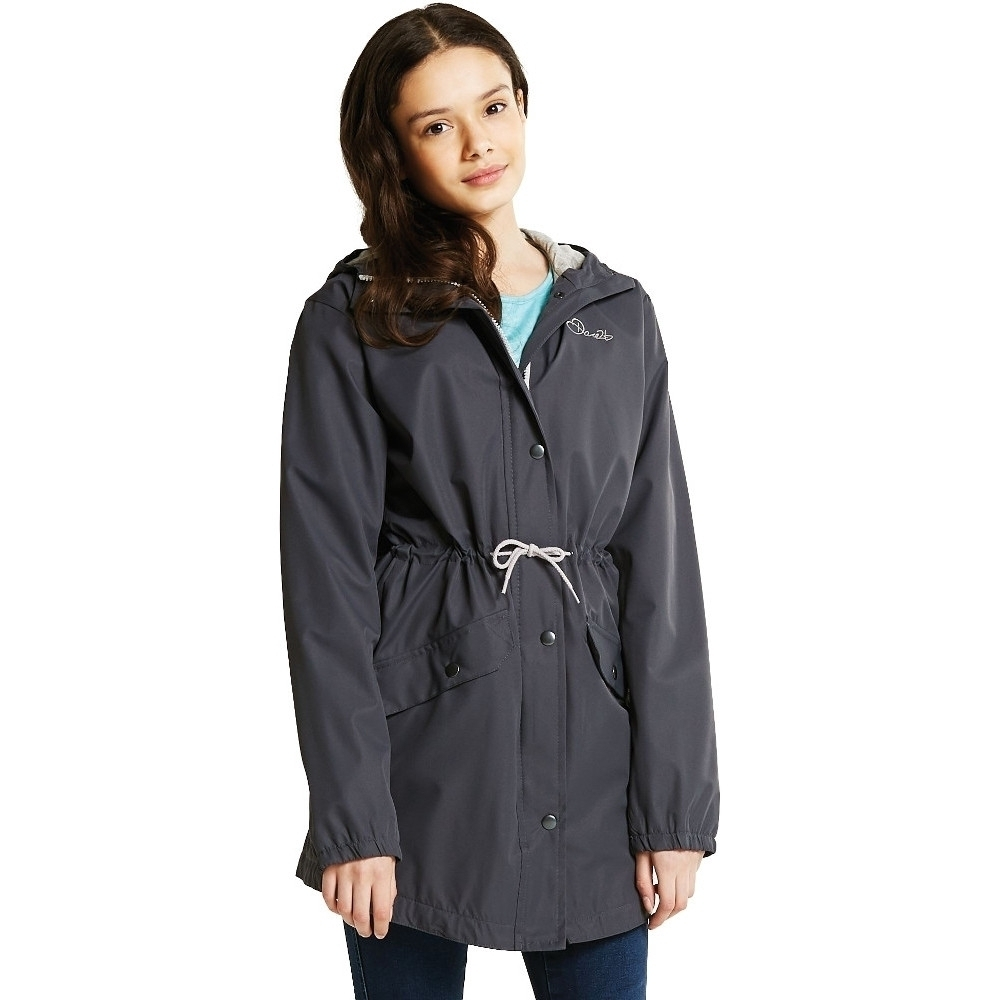 Dare 2b Girls Pledged Waterproof Breathable Hooded Shell