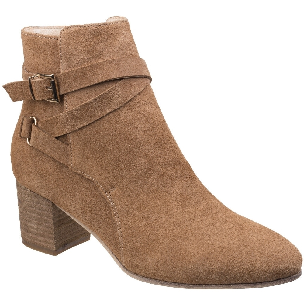 Image of Divaz Womens/Ladies Arianna Zip Up Buckled Casual Chelsea Ankle Boots UK Size 6 (EU 39)