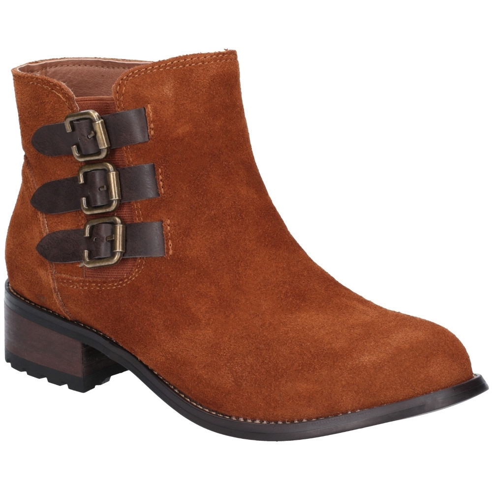 Divaz Womens Lexi Slip On Buckled Stylish Chelsea Boots Uk Size 6 (eu 39)