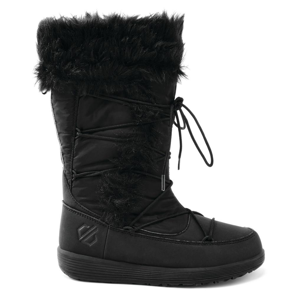 Dare 2b Girls Cazis Jnr Durable Faux Fur Warm Winter Boots Uk Size 11 (eu 30)