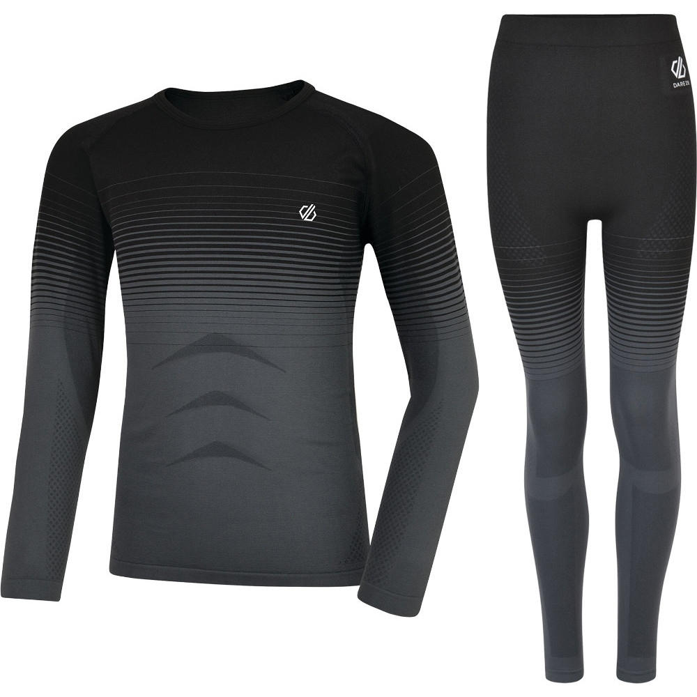 Image of Dare 2b Girls In The Zone Wicking Quick Dry Baselayer Set S-3-6 Years