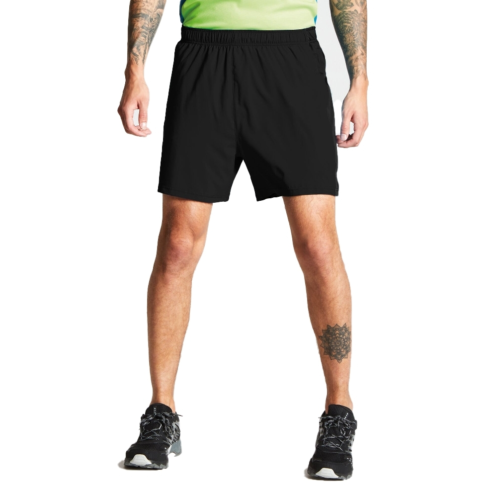 Dare 2b Mens Surrect Lightweight Quick Dry Running Shorts Xs - Waist 28 (71cm)