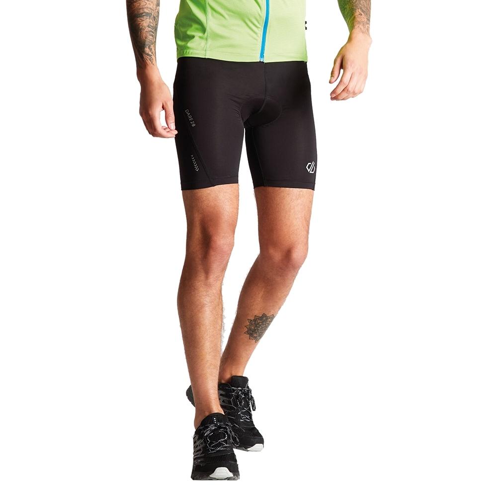 Dare 2b Mens Bold Quick Drying Light Coolmax Cycling Shorts M - Waist 34 (86cm)