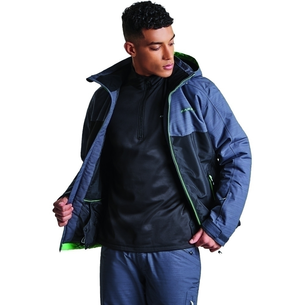 Dare 2b Womens/ladies Opacus Water Repellent Lightweight Jacket Coat 10 -  Chest 26 (66cm)