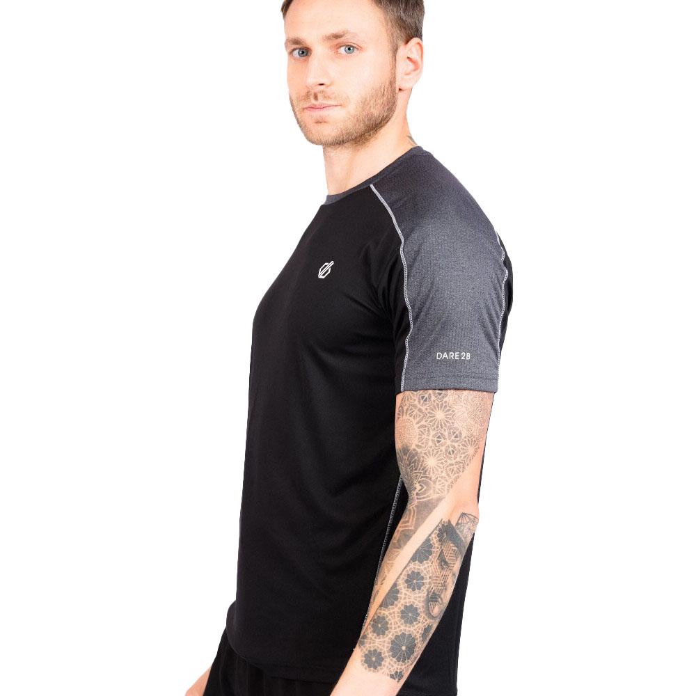 Dare 2b Mens Discernible Lightweight Wicking Running T Shirt Xl- Chest 44  (112cm)