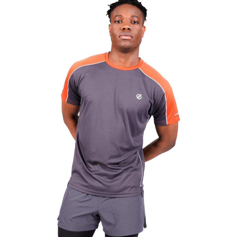 Dare 2b Mens Discernible Lightweight Wicking Running T Shirt S- Chest 38  (97cm)