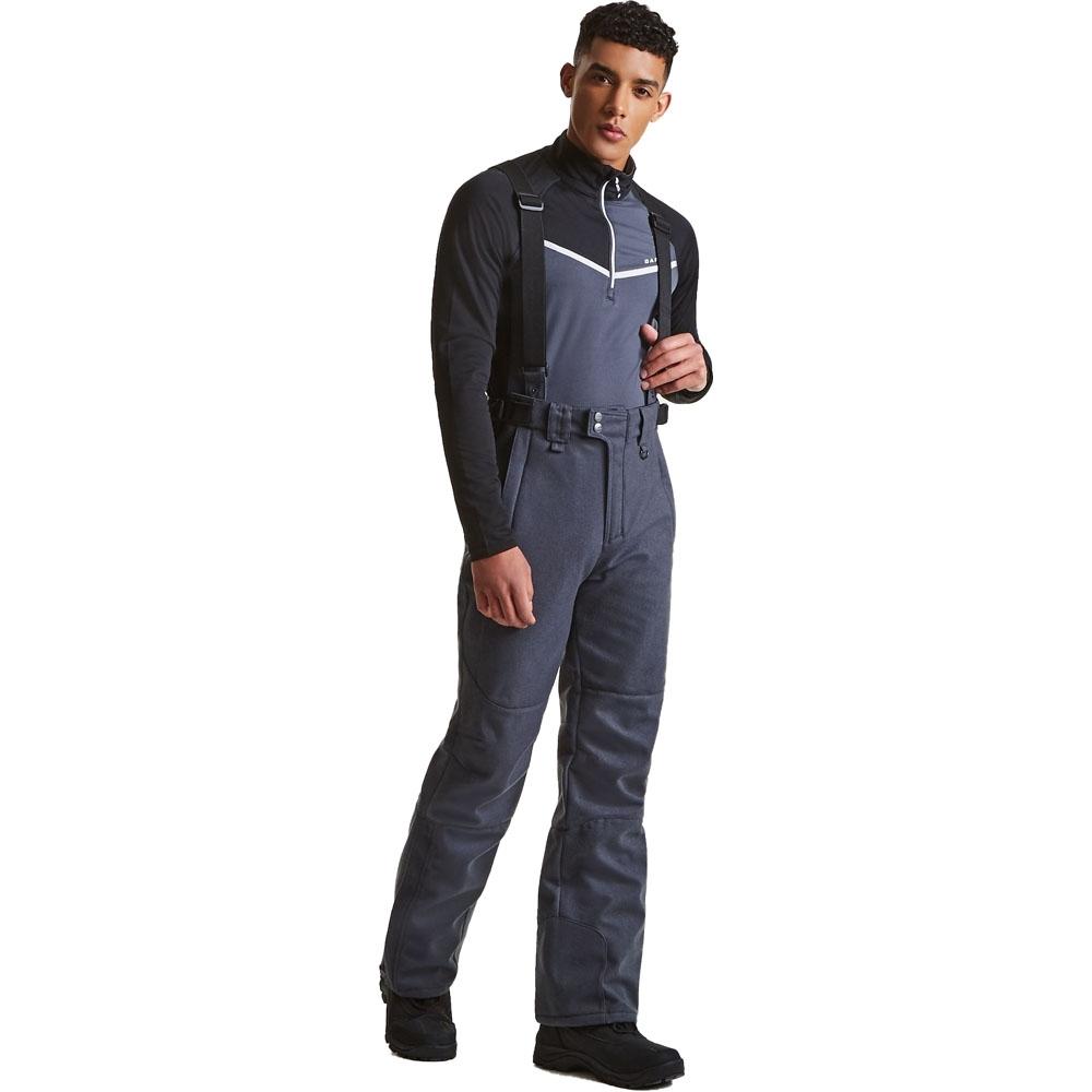 Dare 2b Mens Revere Waterproof Breathable Softshell Skiing Trousers S - Waist 32 (81cm)