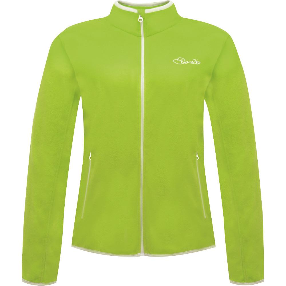 Dare2b Womens/Ladies Sublimity Full Zip Lightweight Fleece Jacket 16 - Chest 40 (102cm)